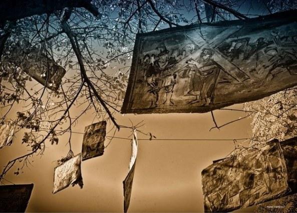 GOLGOTA - DE MURIVALE -  FOTOGRAFIE DE MATEI HABLINSCHI
