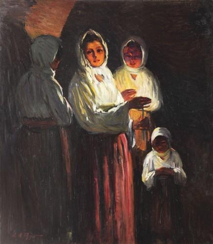 Leon Biju - La slujbă de Înviere