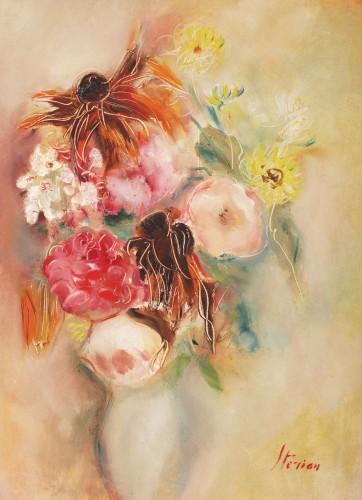Margareta Sterian - Buchet în vază albă