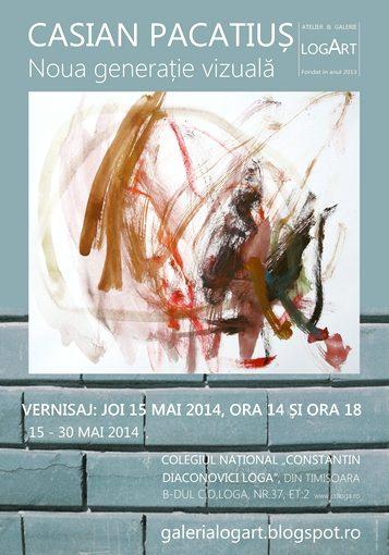 CASIAN PACATIUS - Noua genera_ie vizual¦ - Galeria Logart - 15-30 mai 2014