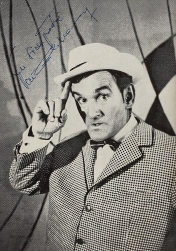 Ilustrată cu autograf Puiu Călinescu, anii '70
