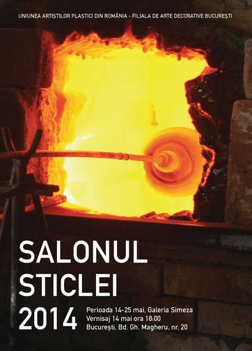 salonul sticlei 2014 poster