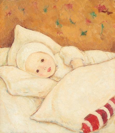 Nicolae Tonitza - Fetița în alb