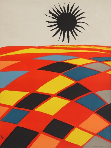 Alexander Calder - Black sun
