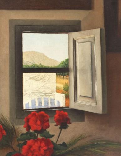 Arthur Segal - Vedere din atelierul artistului