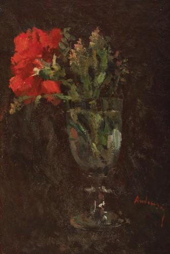 Ioan Andreescu - Garofiță roșie în pahar