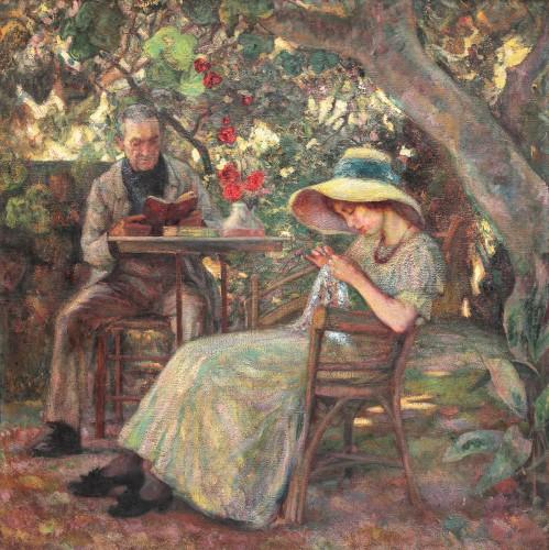 Samuel Mutzner - În grădină la Beaucaire