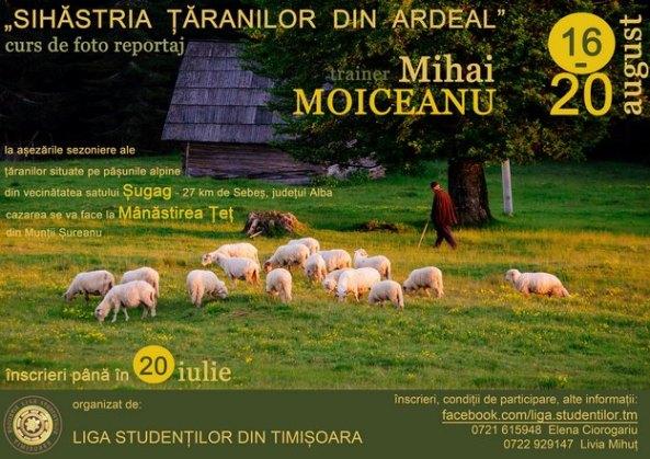 """Sihastria taranilor din Ardeal"""" cu Mihai Moiceanu"""