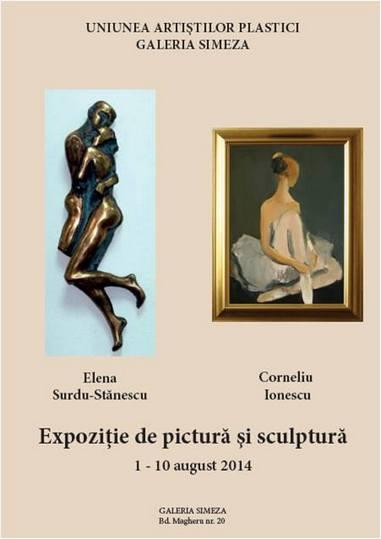 expo pictura sculptura cornel ionescu elena surdu