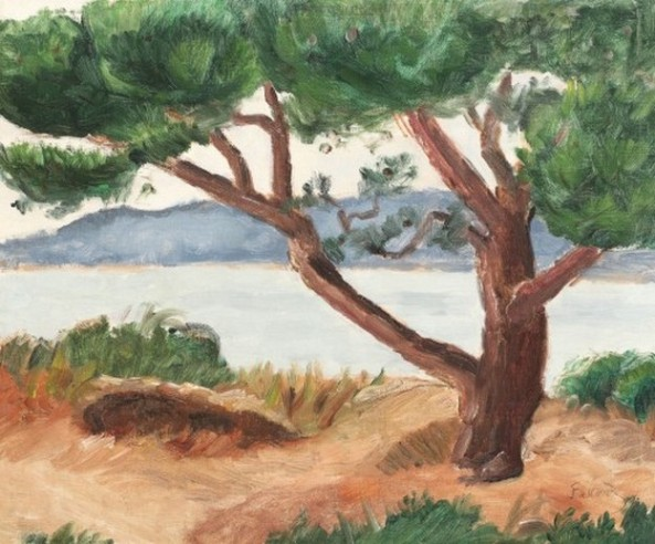 Theodor Pallady - Peisaj din Franța