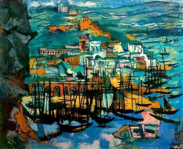Marcel Iancu - Port la Mediterana