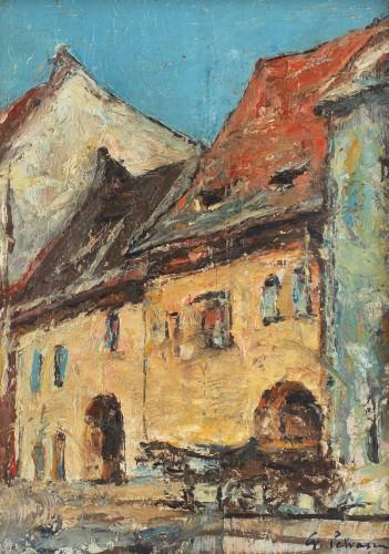 Gheorghe Petrașcu - Case din Sighișoara