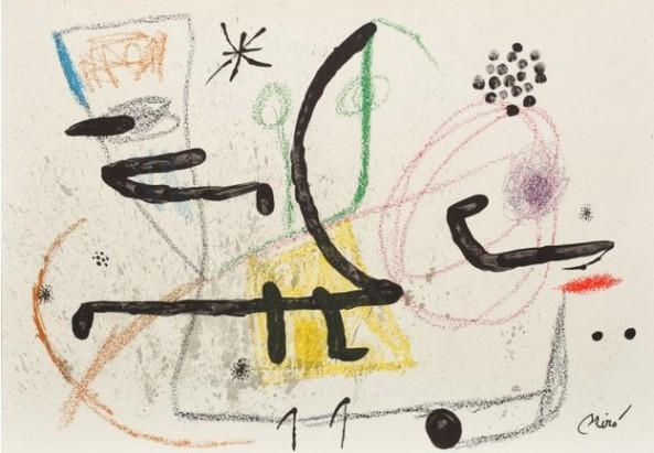 Joan Miró - Marvaillas con Variacioness Acrósticas en El Jardín de Miró 9