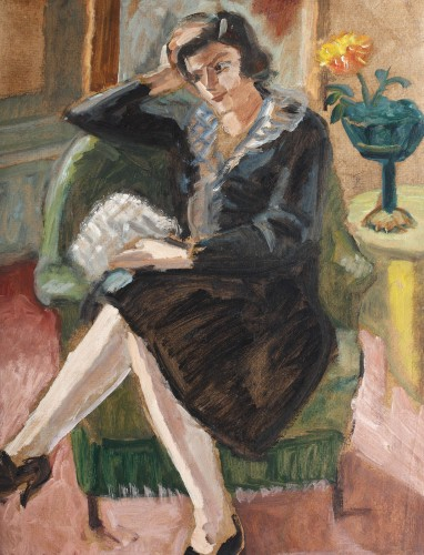 Theodor Pallady - Rochia neagră