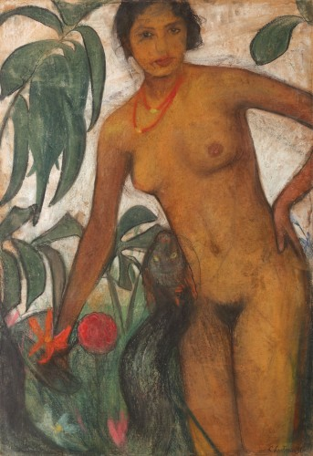 Cecilia Cutescu-Storck - Eva și șarpele