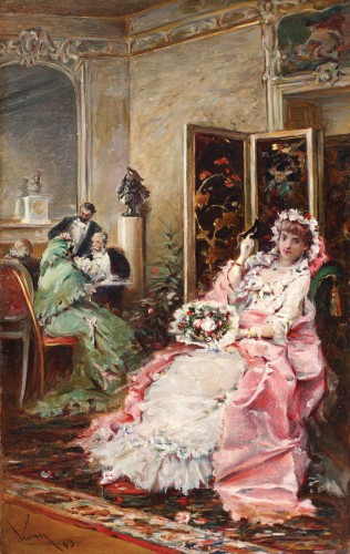 Theodor Aman - Seară de bal mascat