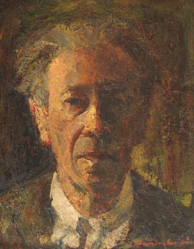Autoportret de Rudolf Schweitzer-Cumpăna