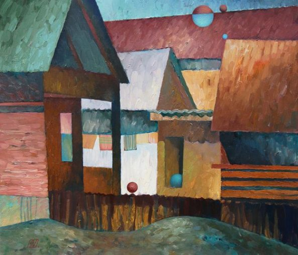 Calinesti-village