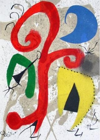 Joan Miro - Garden under the Light of the Moon
