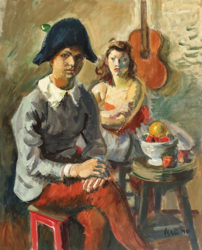 Iosif Iser - Pierrot și Colombina