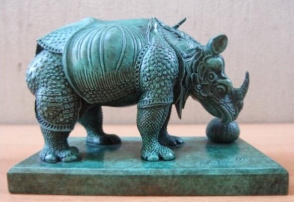 Salvador Dal - Rhinoceros