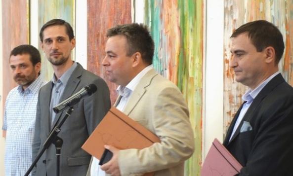 1. Andrei Rosetti, Sorin Scurtulescu, Dr. Florentin Gabriel Niculescu