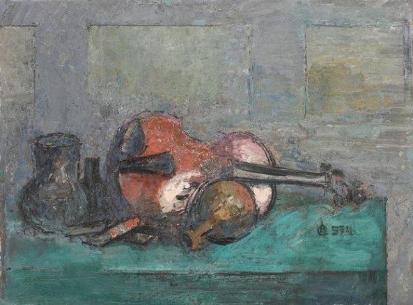 Alexandru Ciucurencu - Natura statică cu vioară