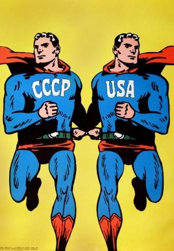 Roman Cieślewicz -  CCCP - USA 1968