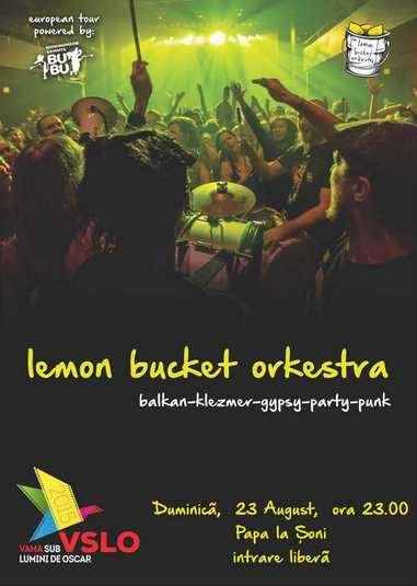 Afis Lemon Bucket Orkestra