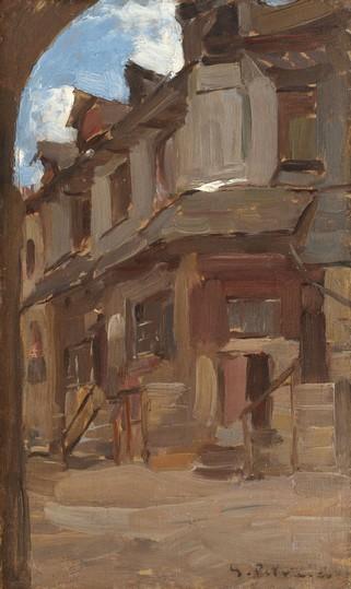 Gheorghe Petrascu, Strada din Vitre