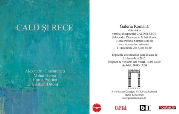 Invitatie Galeria Romana Cald si Rece