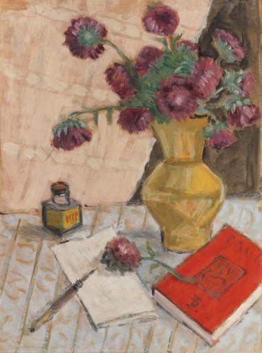 Theodor Pallady - Crizanteme și călimară