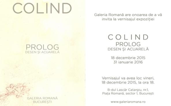 invitatie COLIND