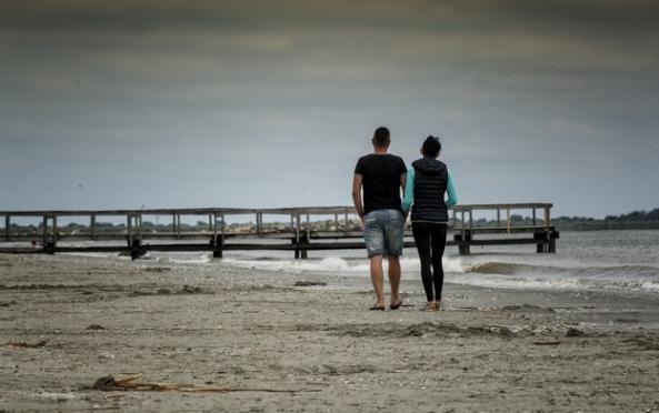 Plaja din Sulina.